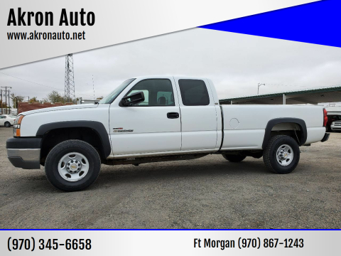 2004 Chevrolet Silverado 2500HD for sale at Akron Auto in Akron CO