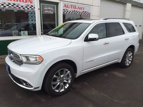 2016 Dodge Durango for sale in Akron, CO