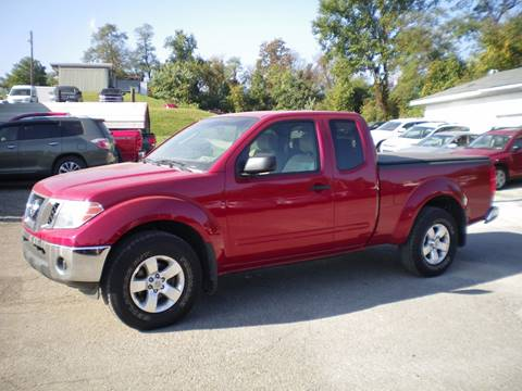 2009 Nissan Frontier for sale in Barnesville, OH