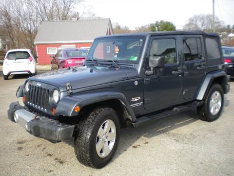 2008 Jeep Wrangler Unlimited for sale in Barnesville, OH