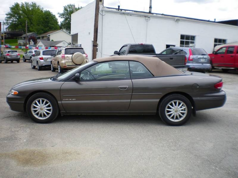 2000 chrysler sebring jxi limited 2dr convertible in. Black Bedroom Furniture Sets. Home Design Ideas