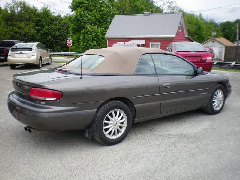 2000 Chrysler Sebring JXi Limited 2dr Convertible In ...