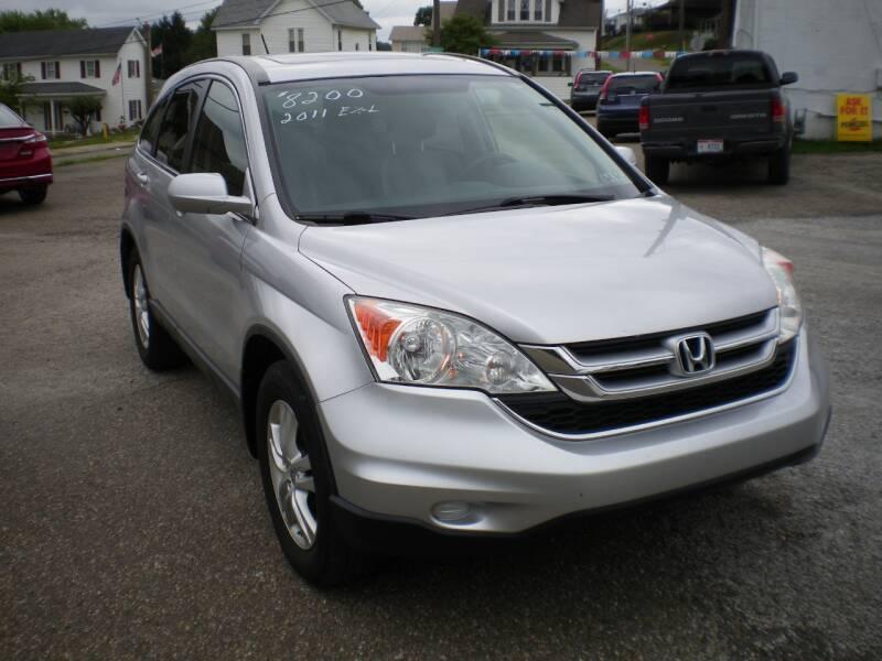2011 Honda CR-V AWD EX-L 4dr SUV w/Navi - Barnesville OH