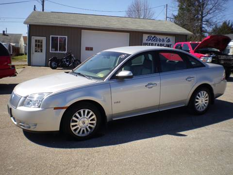 2008 Mercury Sable for sale in Barnesville, OH