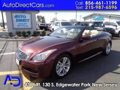 2009 Infiniti G37 Convertible for sale in Edgewater Park, NJ