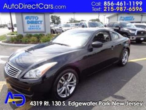 2009 Infiniti G37 Coupe for sale in Edgewater Park, NJ