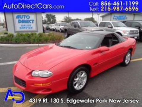 2002 Chevrolet Camaro for sale in Edgewater Park, NJ