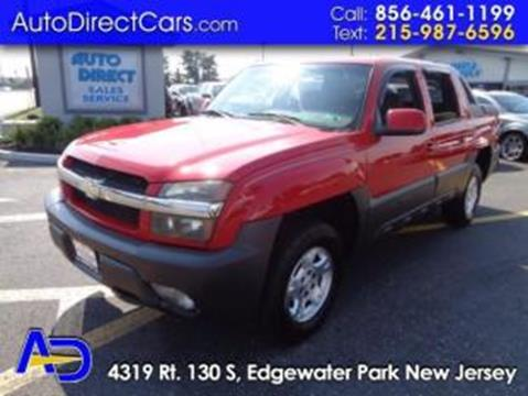 2003 Chevrolet Avalanche for sale in Edgewater Park, NJ