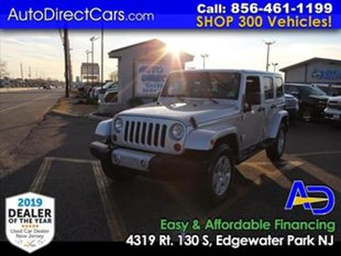 2012 Jeep Wrangler Unlimited for sale in Edgewater Park, NJ