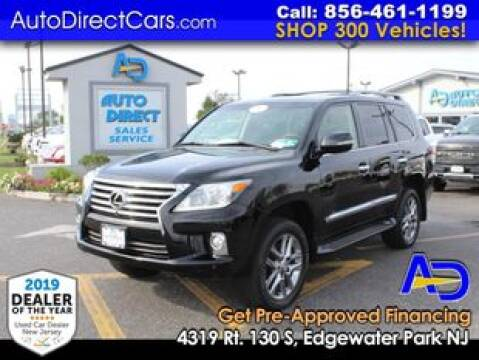 2013 Lexus LX 570 for sale at Auto Direct Trucks.com in Edgewater Park NJ