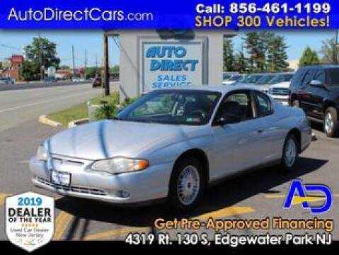 2000 Chevrolet Monte Carlo for sale at Auto Direct Trucks.com in Edgewater Park NJ