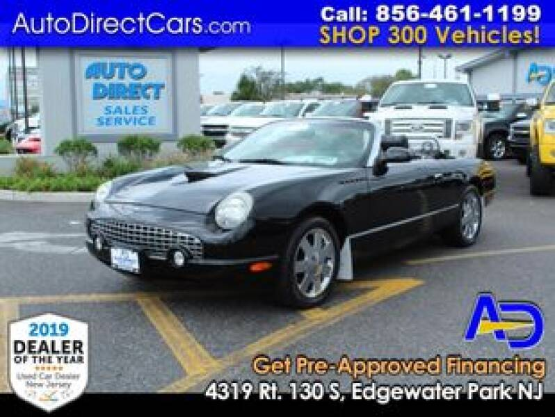 2002 Ford Thunderbird for sale at Auto Direct Trucks.com in Edgewater Park NJ