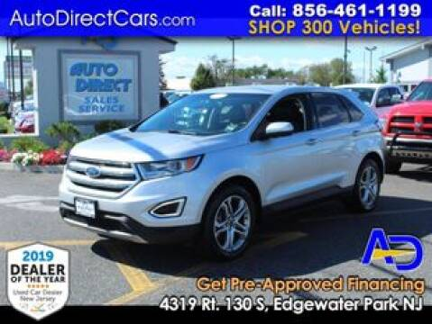 2015 Ford Edge for sale at Auto Direct Trucks.com in Edgewater Park NJ