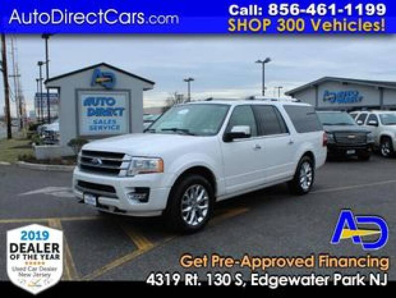 2017 Ford Expedition EL for sale at Auto Direct Trucks.com in Edgewater Park NJ