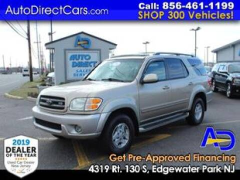 2004 Toyota Sequoia for sale at Auto Direct Trucks.com in Edgewater Park NJ