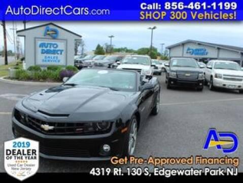 2013 Chevrolet Camaro for sale at Auto Direct Trucks.com in Edgewater Park NJ