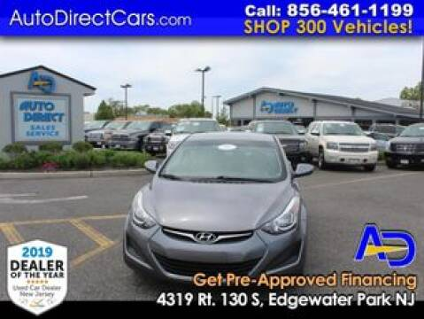 2016 Hyundai Elantra for sale at Auto Direct Trucks.com in Edgewater Park NJ