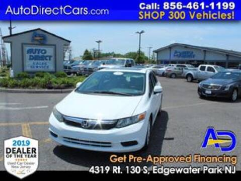 2012 Honda Civic for sale at Auto Direct Trucks.com in Edgewater Park NJ
