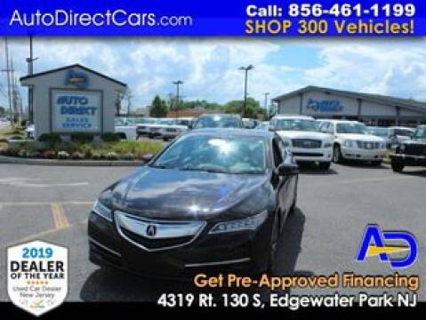 2016 Acura TLX for sale at Auto Direct Trucks.com in Edgewater Park NJ