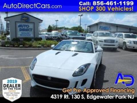 2014 Jaguar F-TYPE for sale at Auto Direct Trucks.com in Edgewater Park NJ