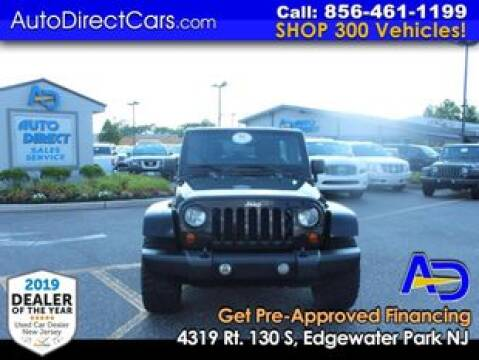 2013 Jeep Wrangler Unlimited for sale at Auto Direct Trucks.com in Edgewater Park NJ
