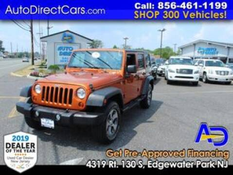 2011 Jeep Wrangler Unlimited for sale at Auto Direct Trucks.com in Edgewater Park NJ