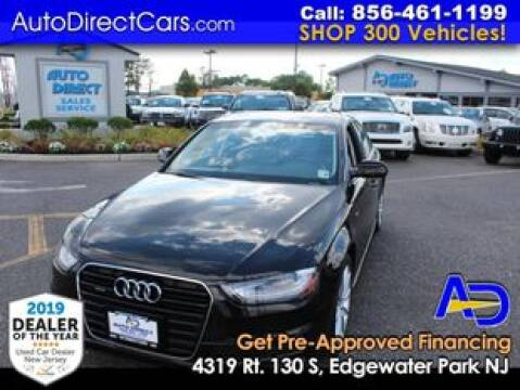 2015 Audi A4 for sale at Auto Direct Trucks.com in Edgewater Park NJ