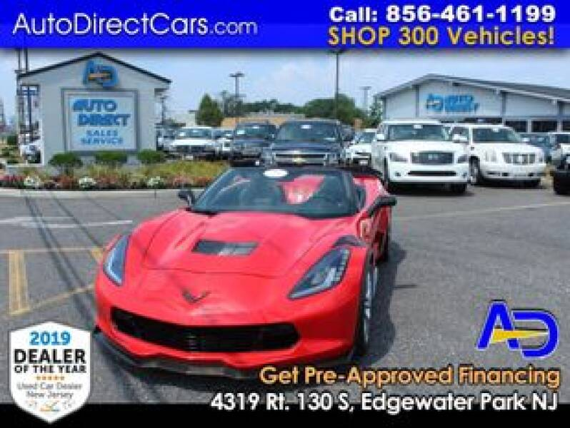 2017 Chevrolet Corvette for sale at Auto Direct Trucks.com in Edgewater Park NJ