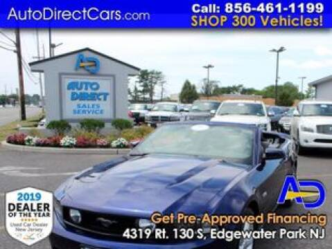 2012 Ford Mustang for sale at Auto Direct Trucks.com in Edgewater Park NJ