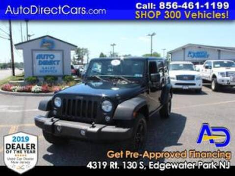 2017 Jeep Wrangler Unlimited for sale at Auto Direct Trucks.com in Edgewater Park NJ