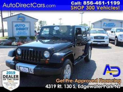 2010 Jeep Wrangler Unlimited for sale at Auto Direct Trucks.com in Edgewater Park NJ