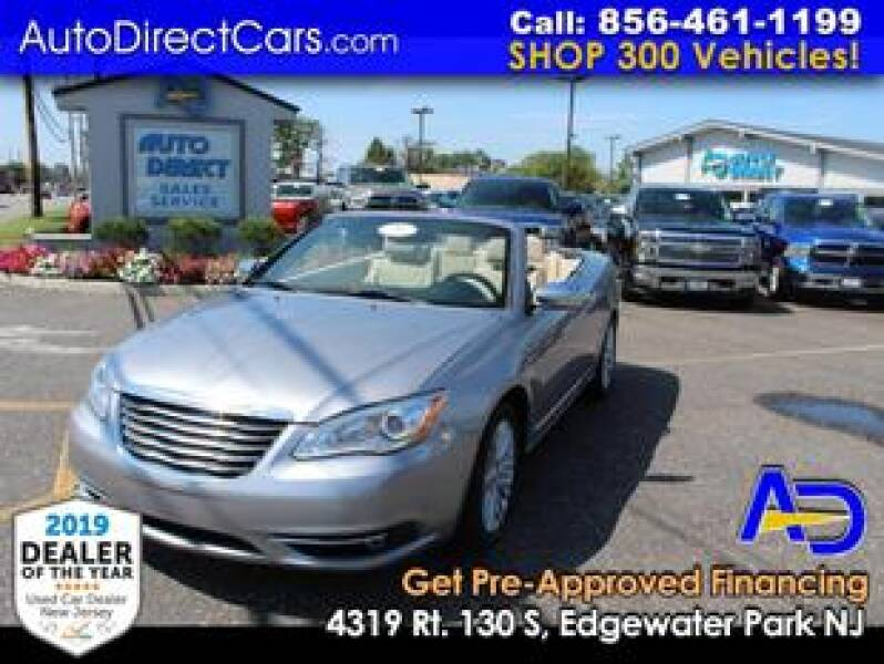 2013 Chrysler 200 Convertible for sale at Auto Direct Trucks.com in Edgewater Park NJ