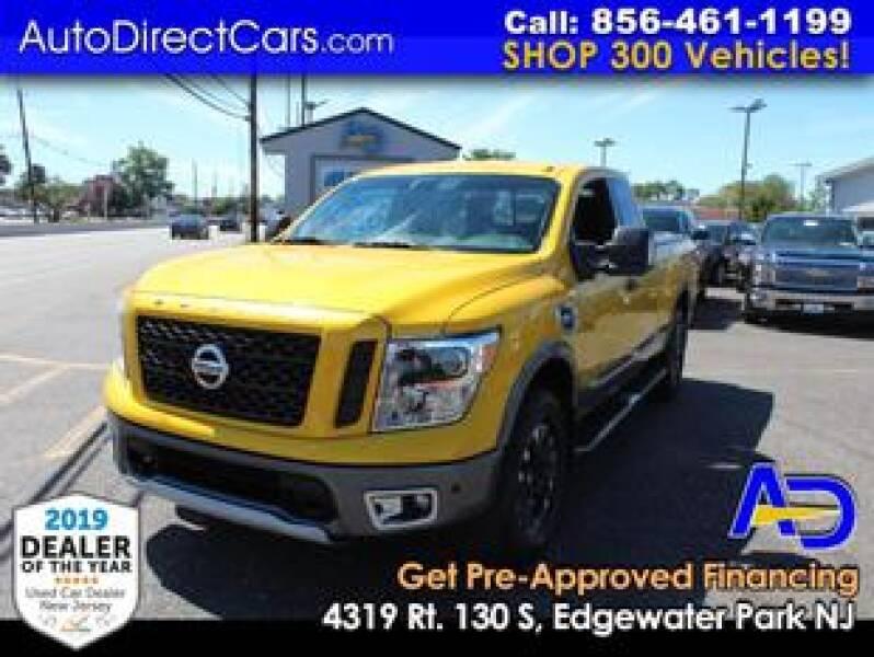 2017 Nissan Titan for sale at Auto Direct Trucks.com in Edgewater Park NJ