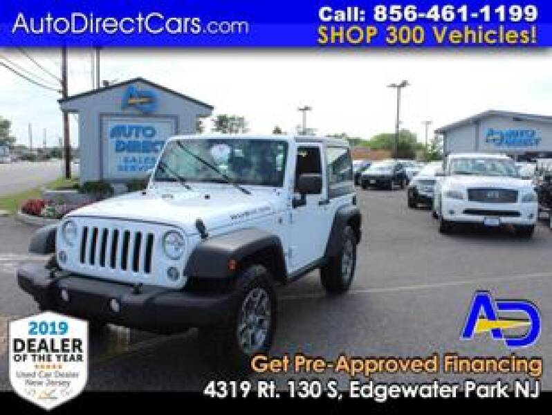 2016 Jeep Wrangler for sale at Auto Direct Trucks.com in Edgewater Park NJ