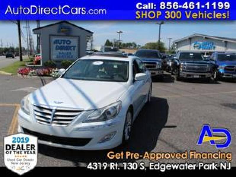 2012 Hyundai Genesis for sale at Auto Direct Trucks.com in Edgewater Park NJ