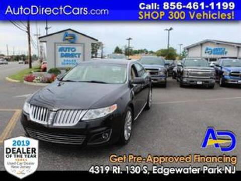 2010 Lincoln MKS for sale at Auto Direct Trucks.com in Edgewater Park NJ