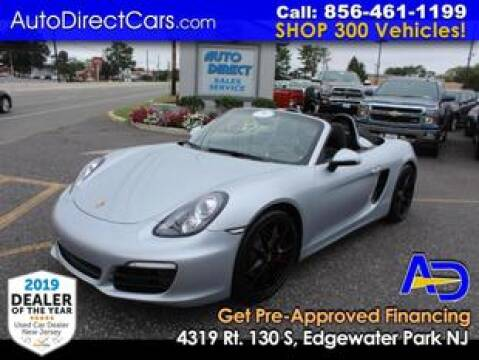 2015 Porsche Boxster for sale at Auto Direct Trucks.com in Edgewater Park NJ