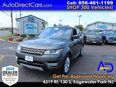 2016 Land Rover Range Rover Sport for sale at Auto Direct Trucks.com in Edgewater Park NJ