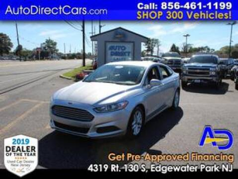 2014 Ford Fusion for sale at Auto Direct Trucks.com in Edgewater Park NJ