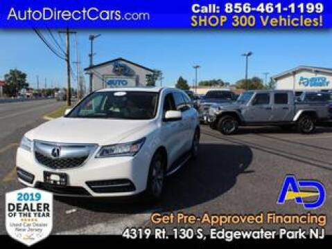 2014 Acura MDX for sale at Auto Direct Trucks.com in Edgewater Park NJ