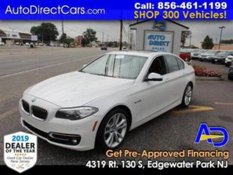 2016 BMW 5 Series for sale at Auto Direct Trucks.com in Edgewater Park NJ