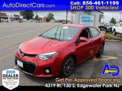 2014 Toyota Corolla for sale at Auto Direct Trucks.com in Edgewater Park NJ