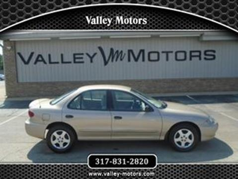 2004 Chevrolet Cavalier for sale in Mooresville, IN