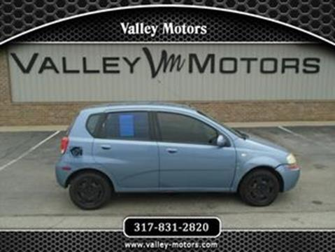 2007 Chevrolet Aveo for sale in Mooresville, IN
