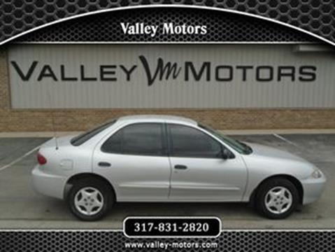 2003 Chevrolet Cavalier for sale in Mooresville, IN