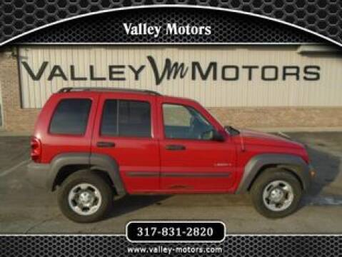 2004 Jeep Liberty Sport for sale at Valley Motors in Mooresville IN