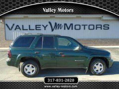 2002 Chevrolet TrailBlazer LS for sale at Valley Motors in Mooresville IN