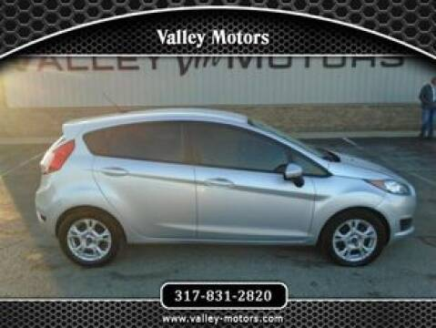 2014 Ford Fiesta SE for sale at Valley Motors in Mooresville IN