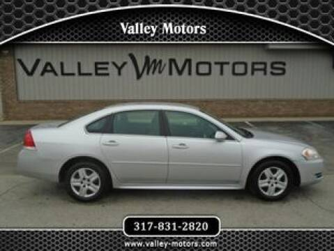 2011 Chevrolet Impala LS Fleet for sale at Valley Motors in Mooresville IN