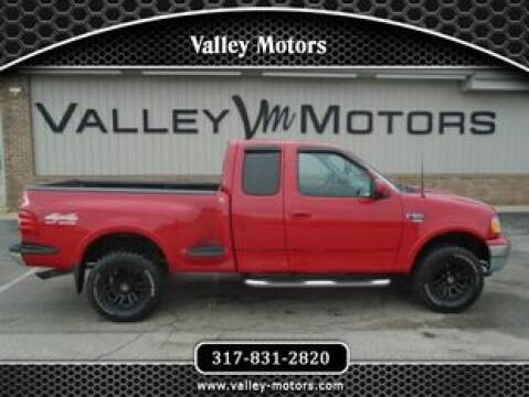 1999 Ford F-150 for sale at Valley Motors in Mooresville IN
